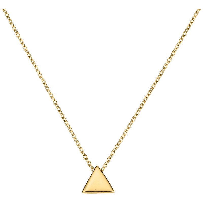 Gold Collier Dreieck