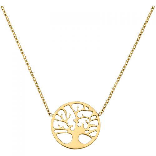 Gold Collier Lebensbaum