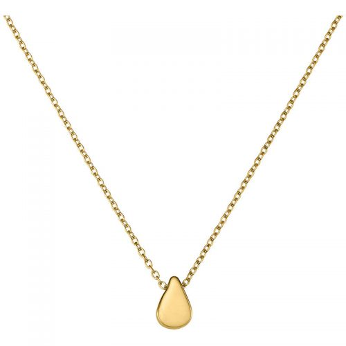 Gold Collier Tropfen