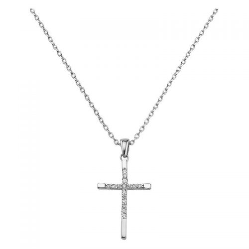 Kreuz besetzt mit Zirkoniasteinen