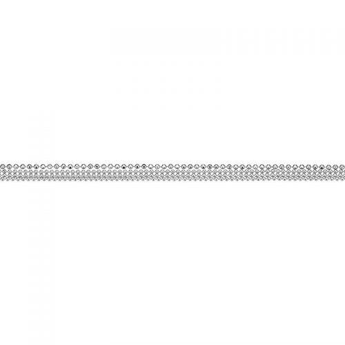 Silber Armband dreireihig